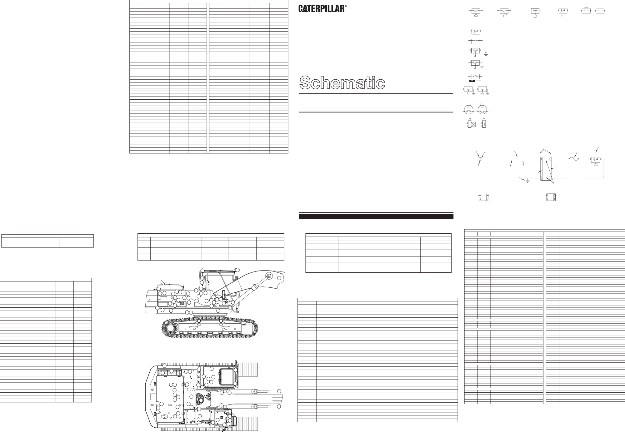 hight resolution of 315b excavator electrical schematic used in service manual renr1120
