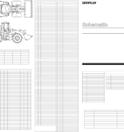 966g 972g wheel loaders electrical system schematic pilot converter strg [ 4965 x 2998 Pixel ]