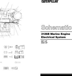 3126b marine engine schematic 2000 caterpillar [ 4527 x 1451 Pixel ]
