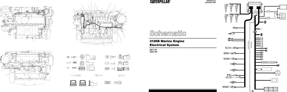 medium resolution of 3126b marine engine schematic 2000 caterpillar