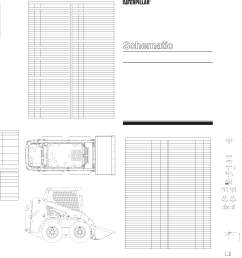 216 226 228 236 246 248 skid steer loader electrical system schematic 2001 caterpillar [ 4318 x 2964 Pixel ]