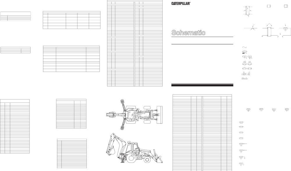 medium resolution of 446b backhoe loader electrical schematic 2000 caterpillar