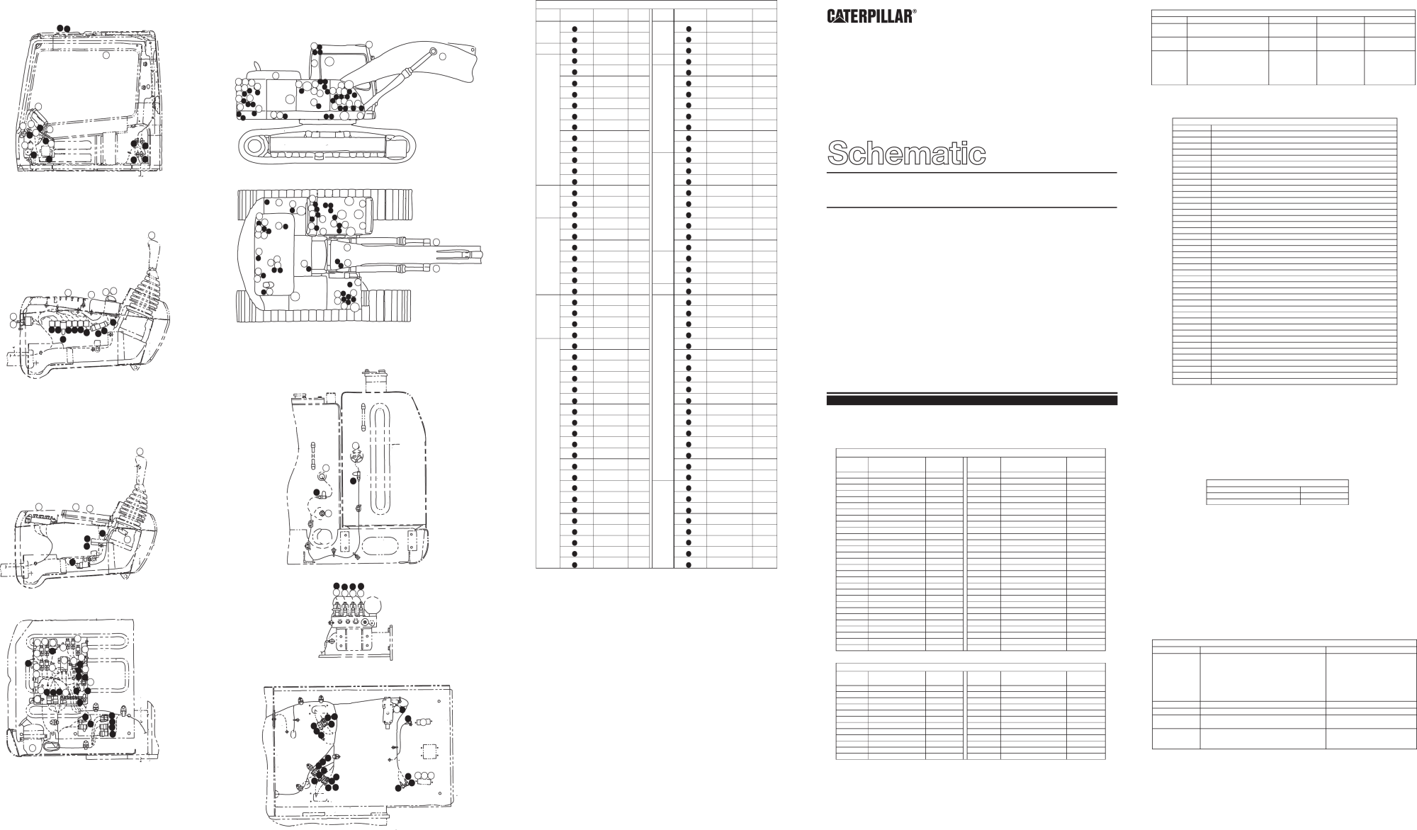 hight resolution of 320b u excavator electrical schematic akashi used in service manual senr9240