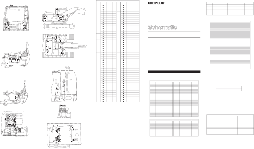 small resolution of 320b u excavator electrical schematic akashi used in service manual senr9240 2000 caterpillar