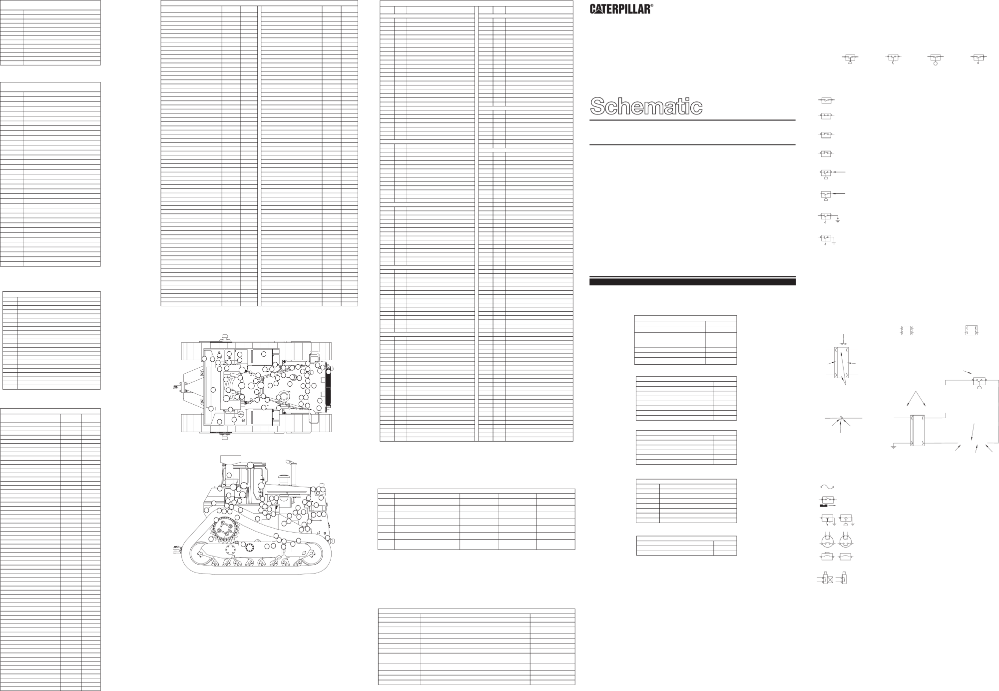 hight resolution of schematic d9r track type tractors with 3408e engine electrical system