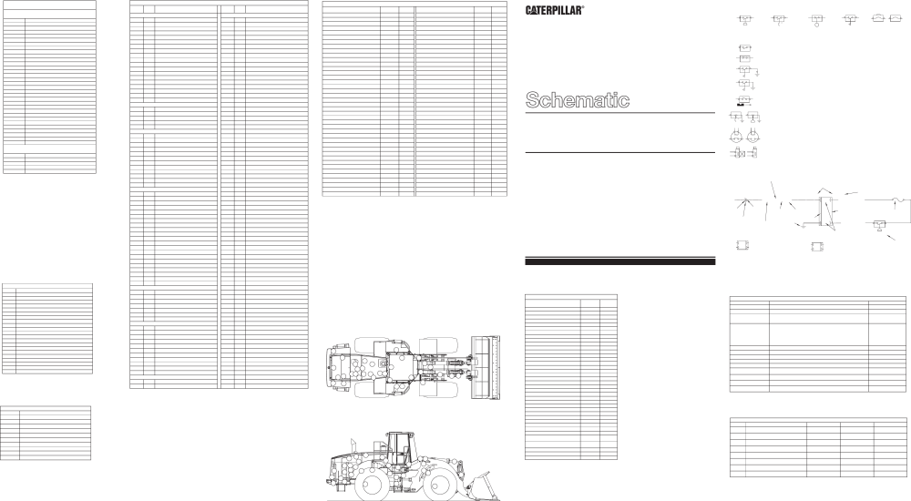 medium resolution of 950g and 962g series ii wheel loader electrical system cat wheel loader wiring diagrams