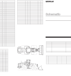 980g series ii wheel loader electrical system schematic [ 5021 x 2963 Pixel ]