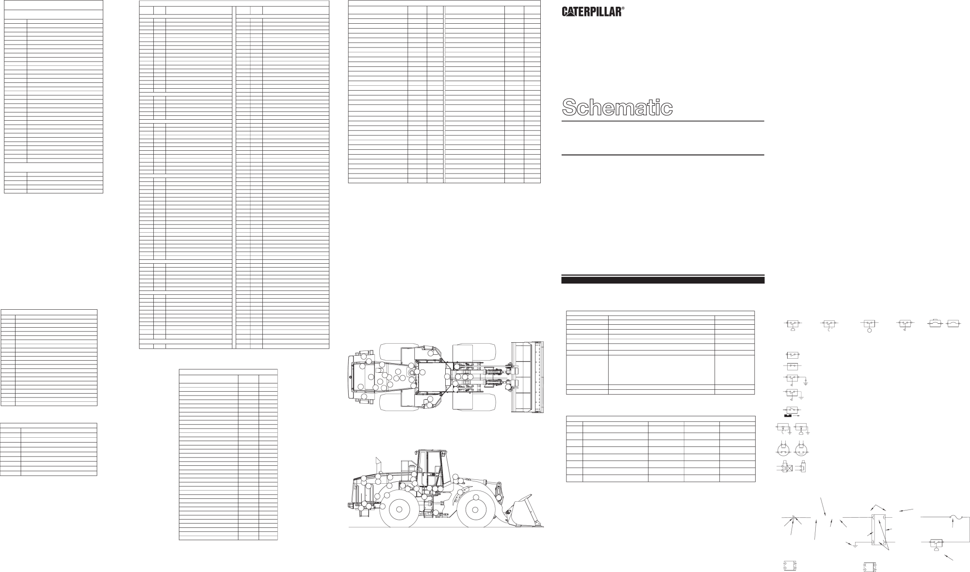 hight resolution of 980g series ii wheel loader electrical system schematic