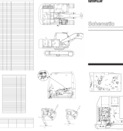 315c excavator electrical schematic vol 1 main vol 2 tool control used in service manual renr5520 [ 5255 x 2882 Pixel ]