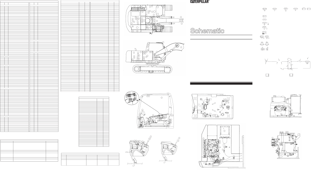 medium resolution of 315c excavator electrical schematic vol 1 main vol 2 tool control used in service manual renr5520