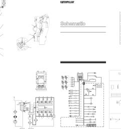3408e 3412e industrial engines electrical schematic 2002 caterpillar [ 4270 x 2976 Pixel ]
