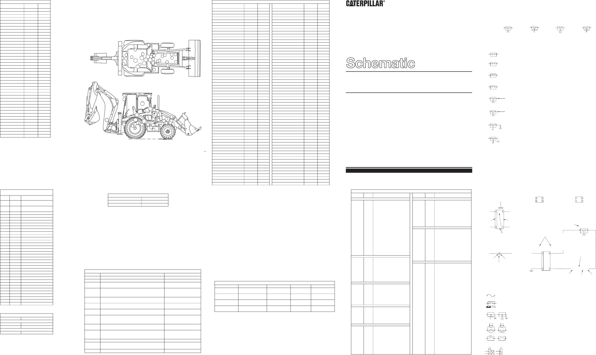 hight resolution of 416c 426c and 436c backhoe loader electrical system schematic s n