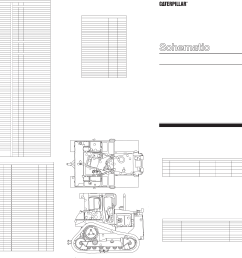 d6r track type tractor d s electrical schematic [ 4985 x 2953 Pixel ]