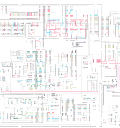 challenger 65e 75e 85e 95e agricultural tractors electrical systemcat challenger wiring diagram  [ 8564 x 5229 Pixel ]