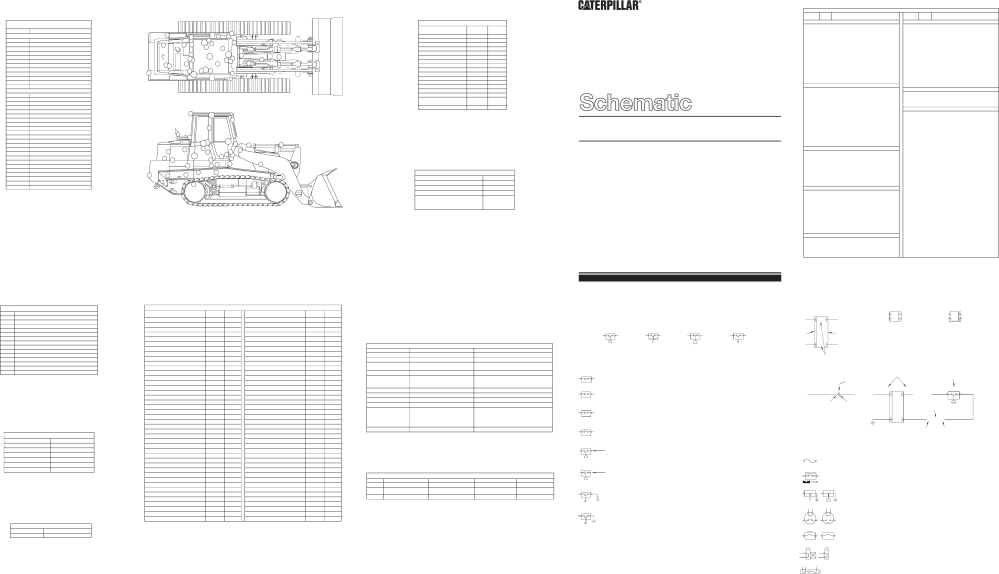 medium resolution of 953c track type loader electrical system schematic 2001 caterpillar