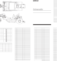 schematic for 657e wheel tractor scraper electrical system 1987 caterpillar [ 4739 x 3559 Pixel ]