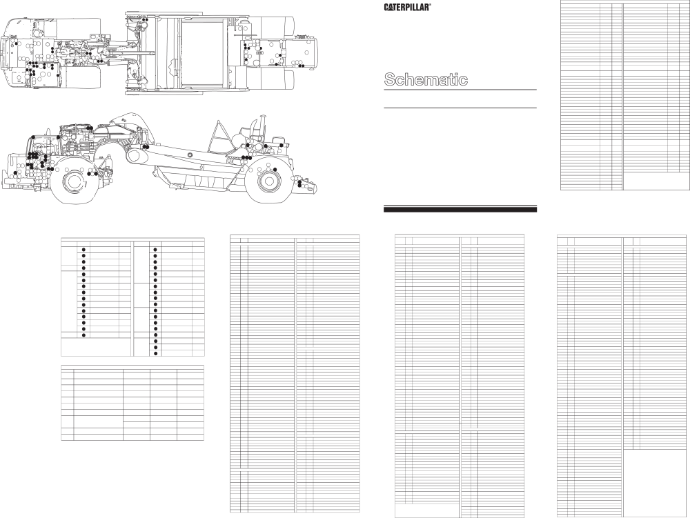 medium resolution of schematic for 657e wheel tractor scraper electrical system