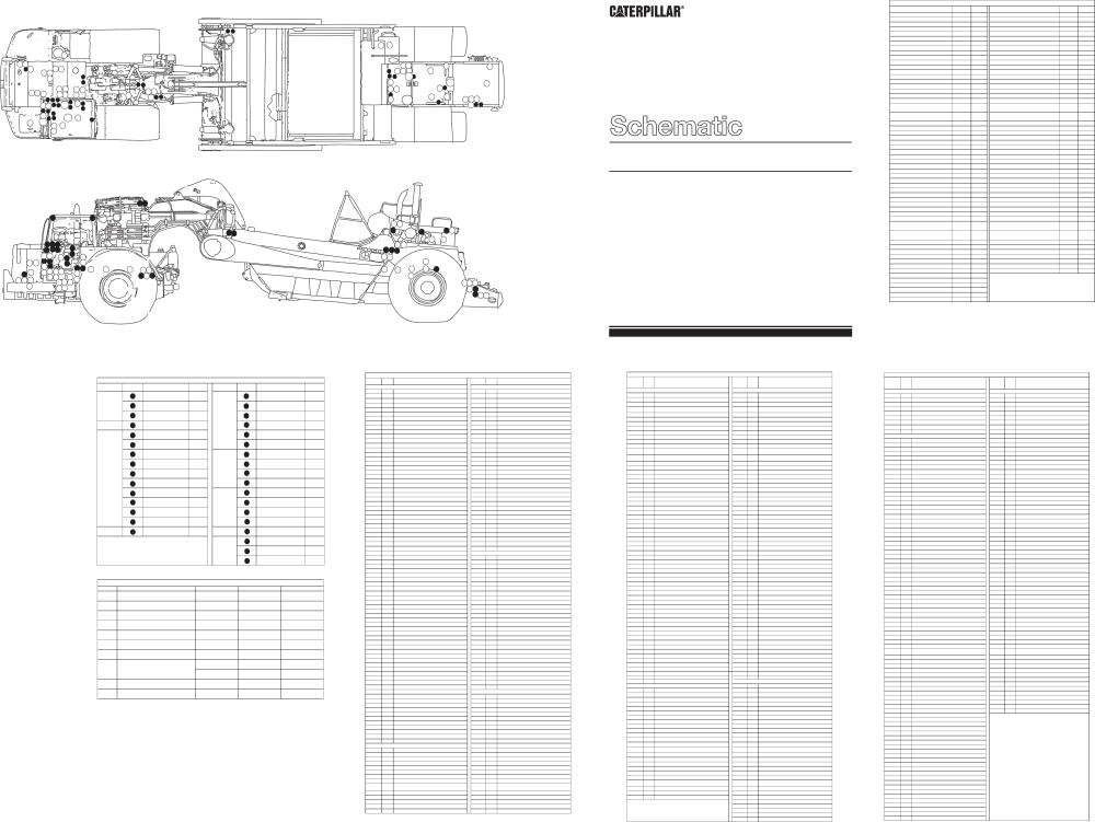 medium resolution of schematic for 657e wheel tractor scraper electrical system 1987 caterpillar