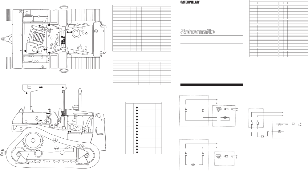 medium resolution of schematic for d6h series ii tractor electrical system