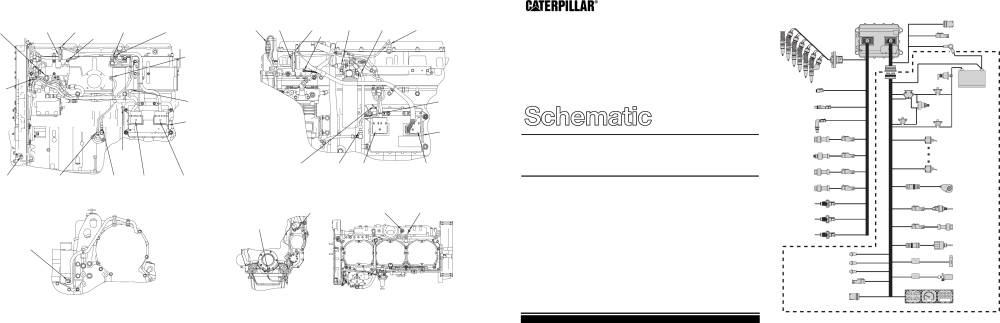 medium resolution of  schematics caterpillar c 10 c 12 c 15 c 16 industrial caterpillar 3406e wiring
