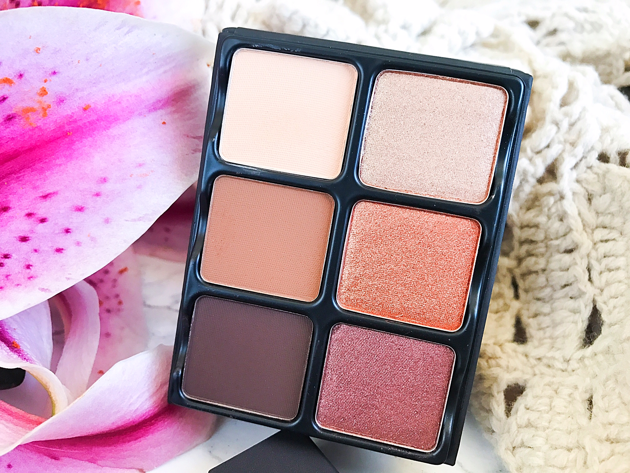 Effortlessly Elegant Makeup With Viseart Theory Ii Minx Palette 06 Paris Nudes The Mattes From Top To Bottom Are