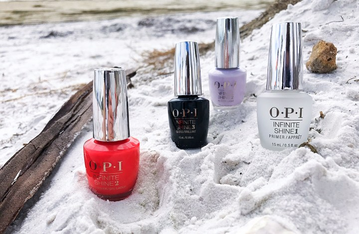Gel Manicure at Home | OPI Infinite Shine Collection
