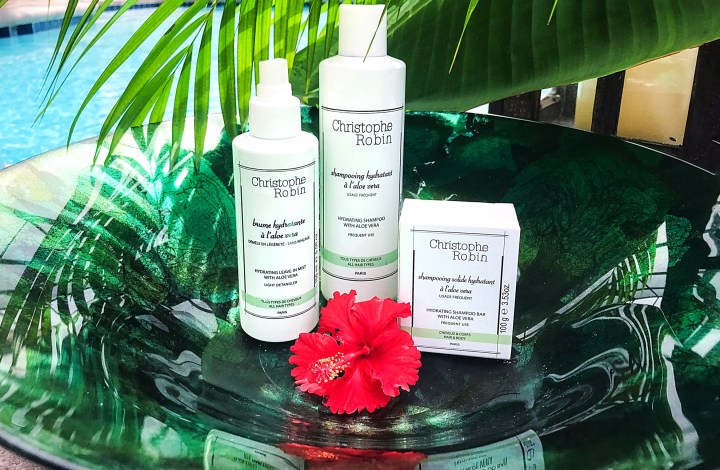 Aloe Vera for Your Hair? Christophe Robin's New Line Will Change the Way You Care for Your Hair