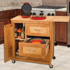 Drop Leaf Kitchen Cart Outside Grill Catskill Craftsmen Drawer With Side Model 1522