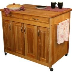 Catskill Craftsmen Kitchen Island Yellow Gloves Butcher Block Work Center Plus Model 54230