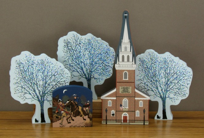 Old North Church Boston MA  The Cats Meow Village