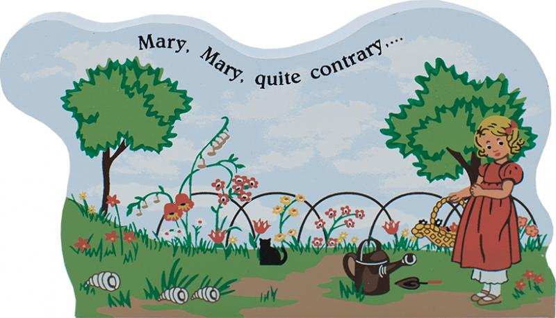 Mary. Mary. Quite Contrary | The Cat's Meow Village