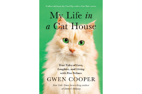 Gwen Cooper's book, MY Life in a Cat House.