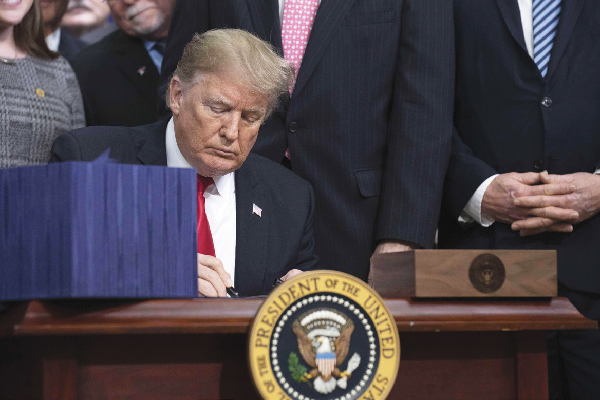 President Trump signed the Farm Bill into law on December 20, 2018, legalizing cultivating and producing industrial hemp (which contains less than 0.3 percent THC).