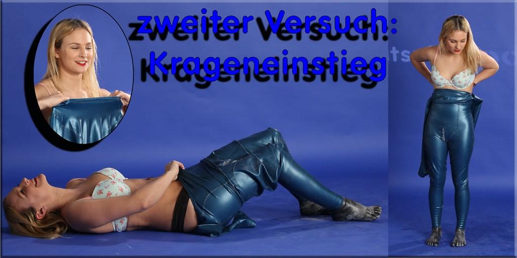 Nessyas first contact mit einem Krageneinstieg