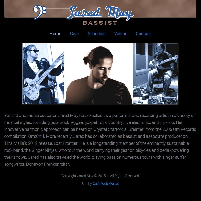 JaredtheBassist.com