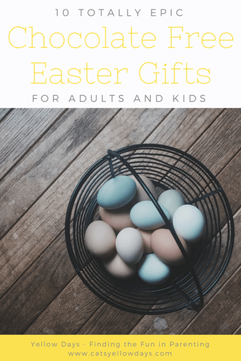 10 Chocolate Free Easter Presents - Non Chocolate Easter Gifts for Adults and Children.