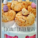 Coconut Easter Nests - a fun and tasty bake that the kids can make for Easter