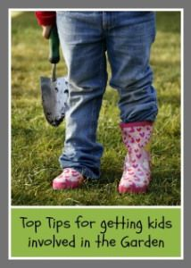 Top tips for getting the kids involved in the garden