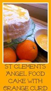 St Clements Angel Food Cake with Orange Curd Pin