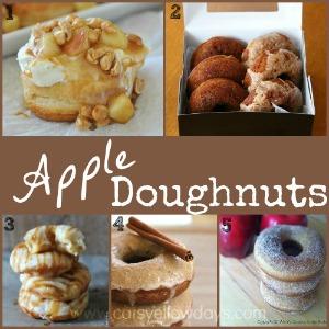Apple Doughnut Recipes - Baking with apples