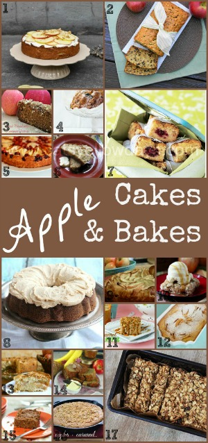 Recipes for Apple Cakes - baking with apples