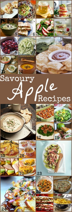 Cooking with apples - Savoury apple recipes
