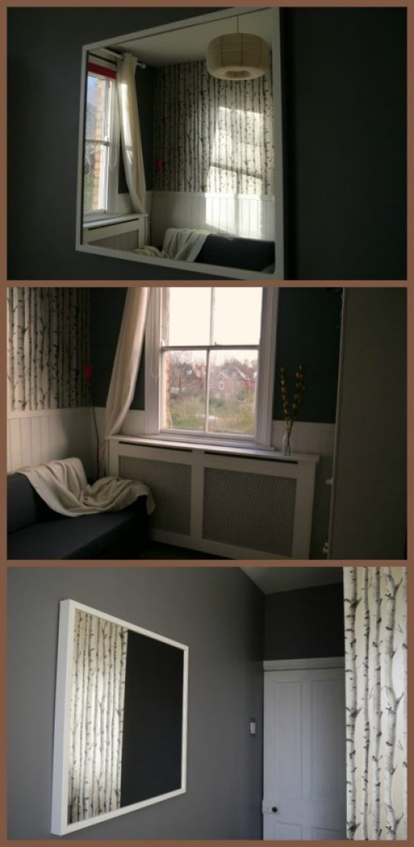 Cosy decorating on a budget after picture
