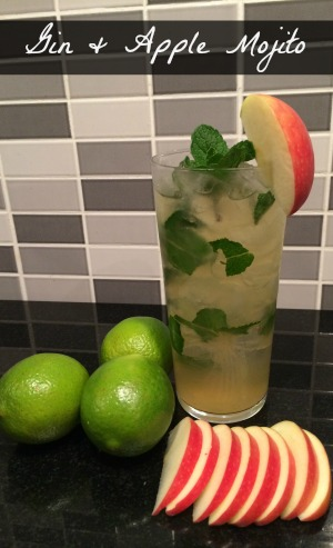 gin cocktails apple Mojito Recipe
