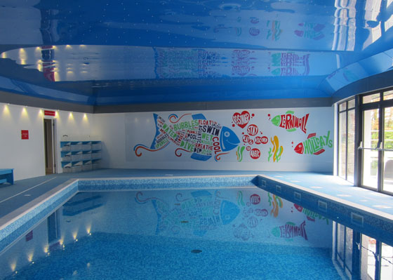 Bosinver Farm Cottages - Luxury Self Catering in Cornwall with a swimming pool - family review