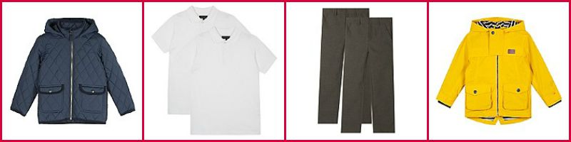 Debenhams schoolwear
