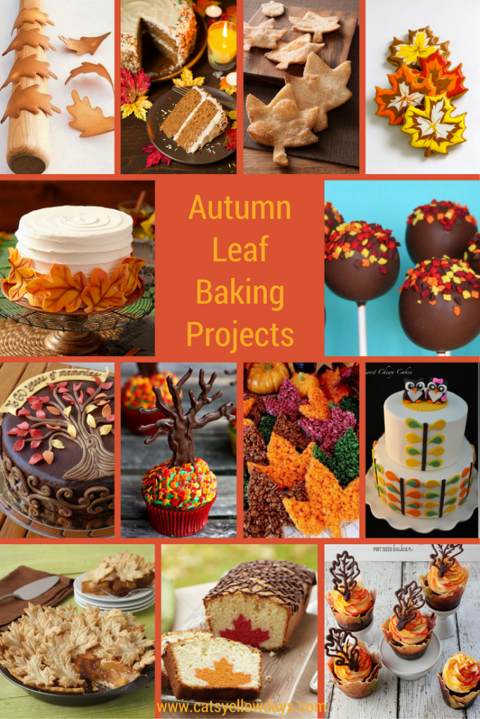 50+ Fall leaf projects including Autumn decor, arts, crafts & baking. These make great Fall activities for preschoolers, older kids and adults.