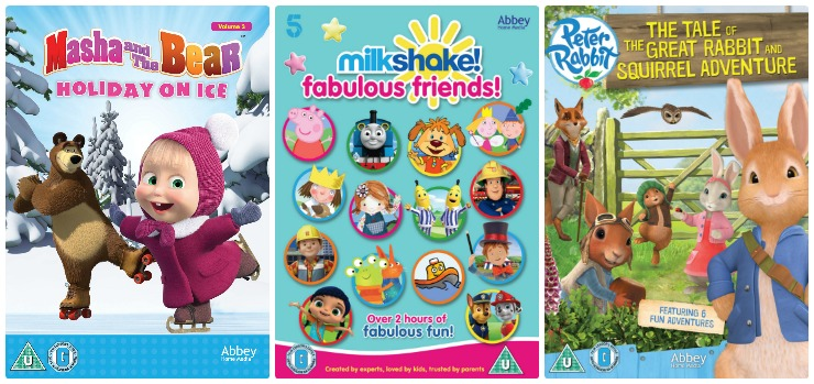 Win a Children's DVD Bundle