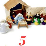 5 Child friendly nativity scenes for Advent
