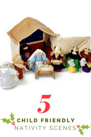 5 child friendly nativity scenes